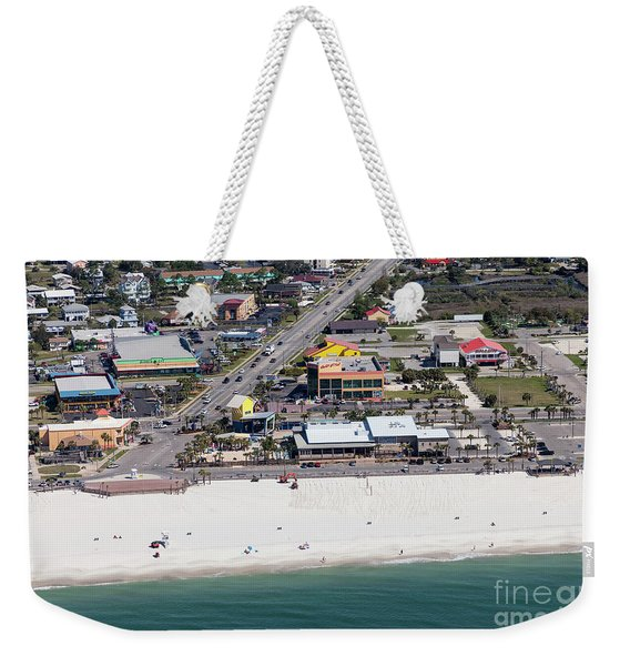 Gulf Shores Beach 7139 Weekender Tote Bag