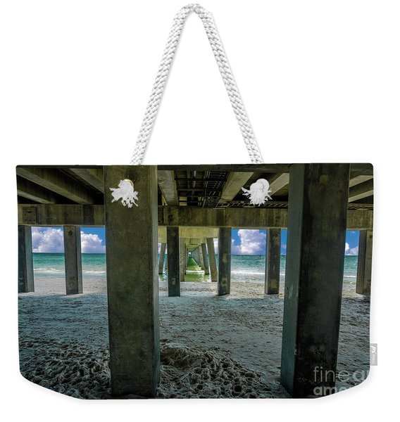 Gulf Shores Park And Pier Al 1649b Weekender Tote Bag