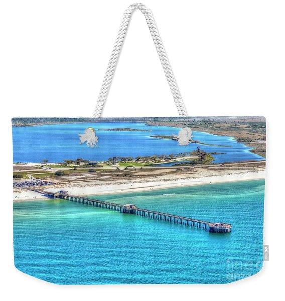 Gulf State Park Pier 7464p3 Weekender Tote Bag