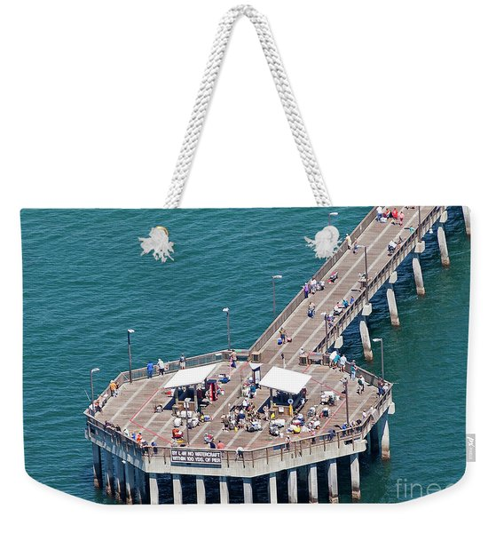 Gulf State Park Pier 7467 Weekender Tote Bag