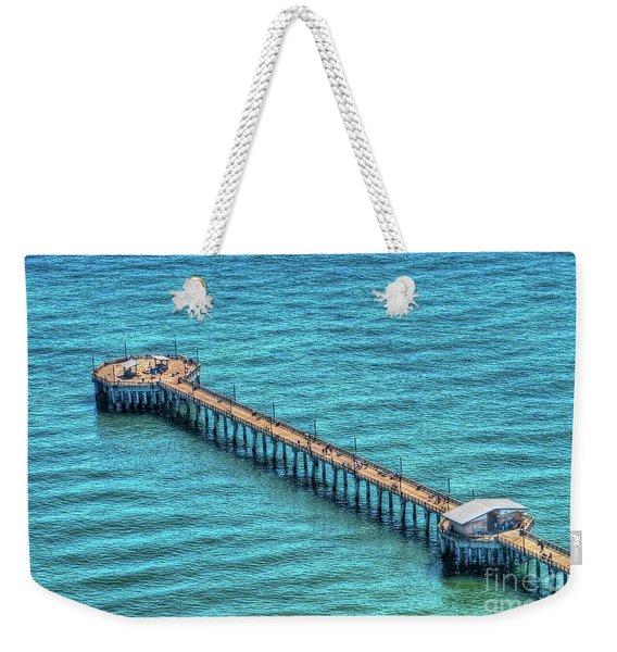 Gulf State Park Pier Weekender Tote Bag