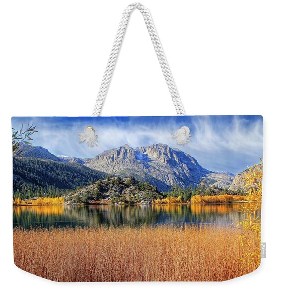 Gull Lake View From The Marsh Weekender Tote Bag