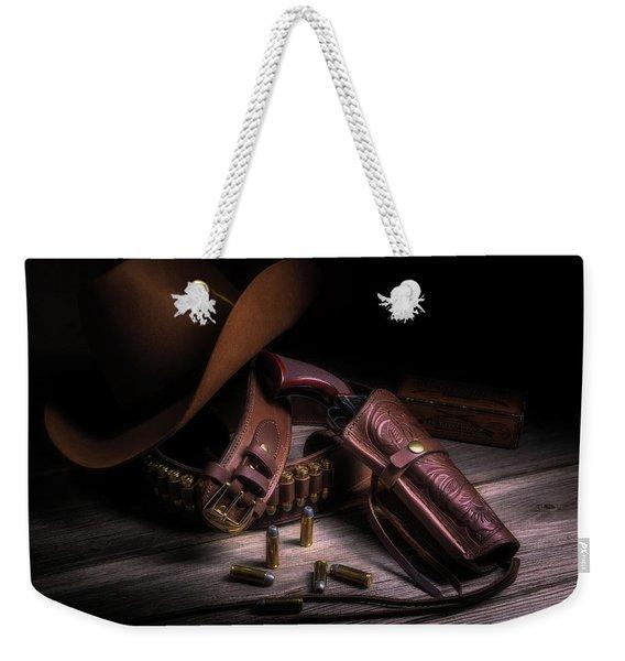 Gunslinger Weekender Tote Bag