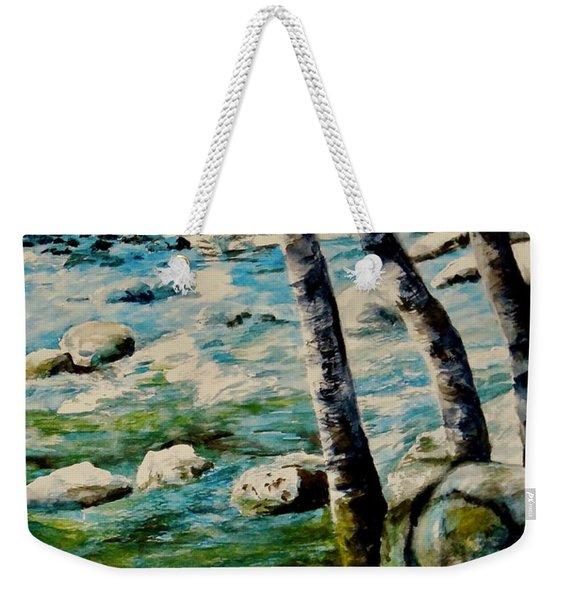 Gushing Waters Weekender Tote Bag