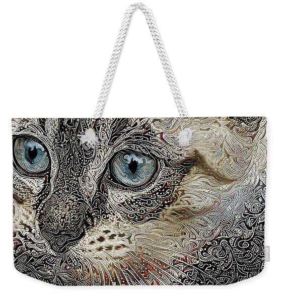 Gypsy The Siamese Kitten Weekender Tote Bag