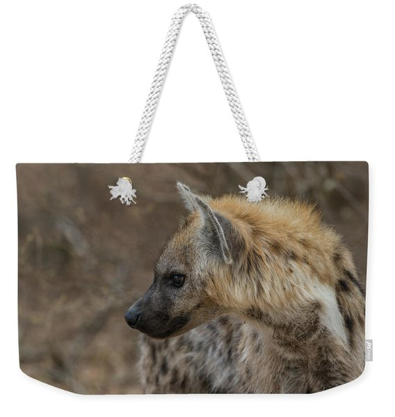 Weekender Tote Bag featuring the photograph H1 by Joshua Able's Wildlife