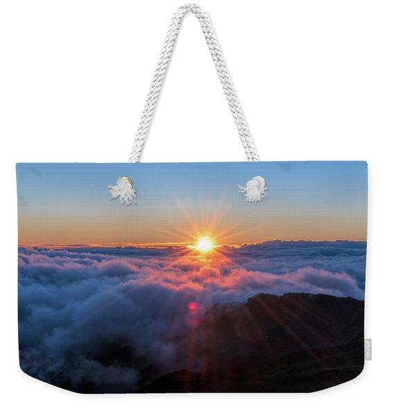 Haleakala First Light  Weekender Tote Bag