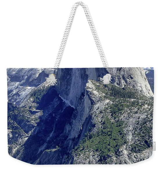 Half Dome From Glacier Point Weekender Tote Bag
