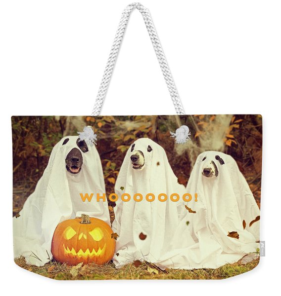 Halloween Hounds Weekender Tote Bag