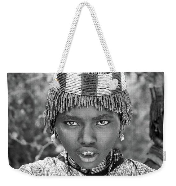 Hammer Girl Weekender Tote Bag