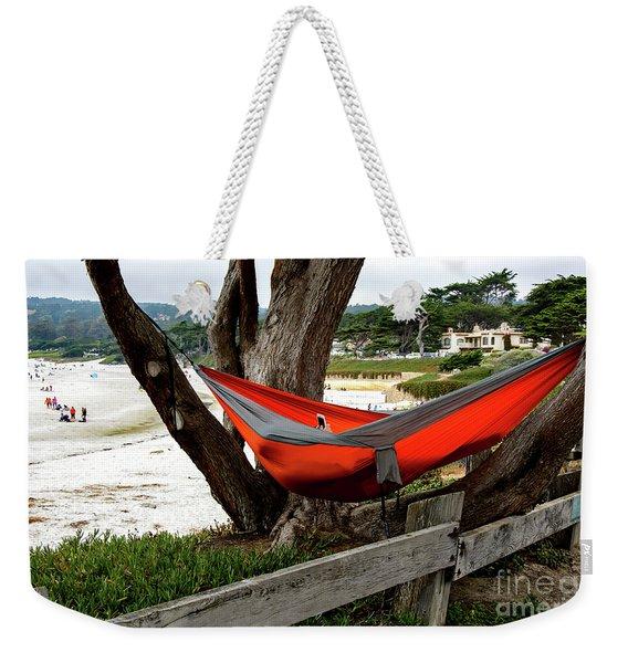 Hammock By The Sea Weekender Tote Bag