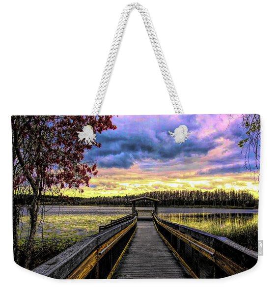 Hammond Lake Weekender Tote Bag