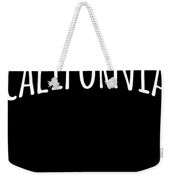 Weekender Tote Bag featuring the digital art Hand California by Flippin Sweet Gear