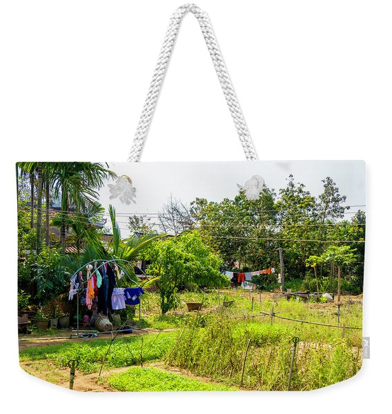 Hanging Out To Dry In Vietnam Weekender Tote Bag