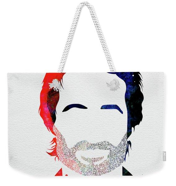 Hank Moody Watercolor Weekender Tote Bag