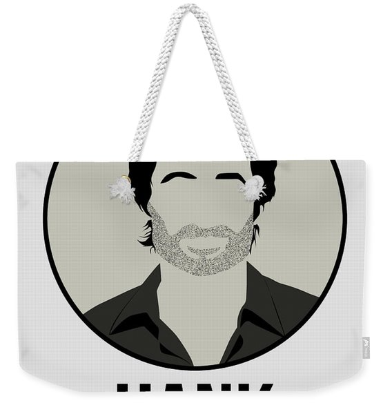 Hank Weekender Tote Bag