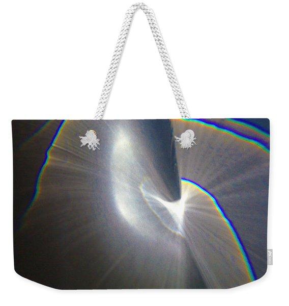 Happy Accident 1 Grey Weekender Tote Bag