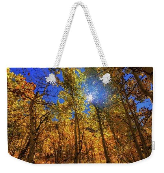 Happy Fall Weekender Tote Bag
