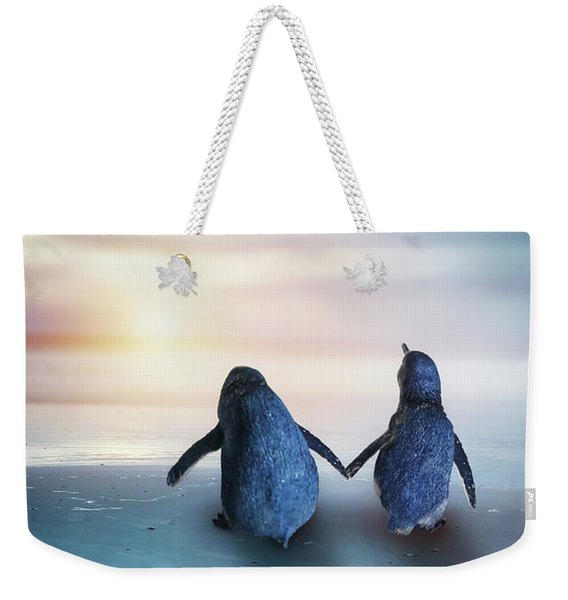 Happy Feet Weekender Tote Bag
