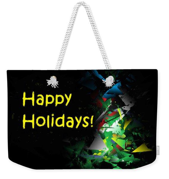 Happy Holidays - 2018-7 Weekender Tote Bag