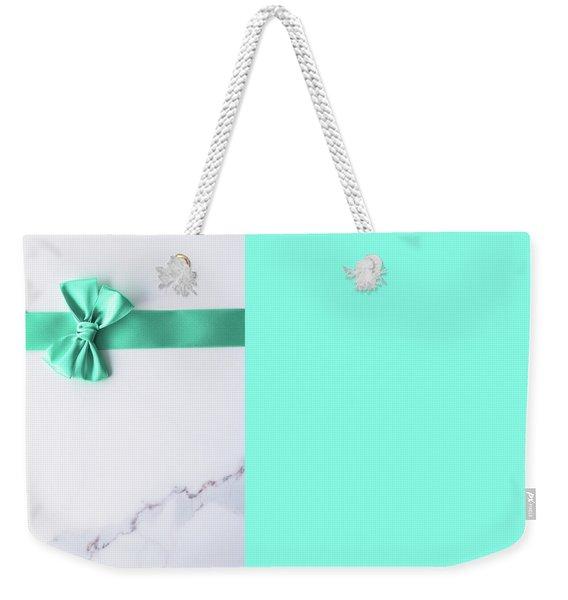Hello Holiday Iv Weekender Tote Bag