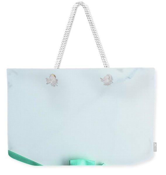 Happy Holidays V Weekender Tote Bag