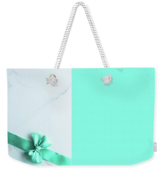 Hello Holiday V Weekender Tote Bag