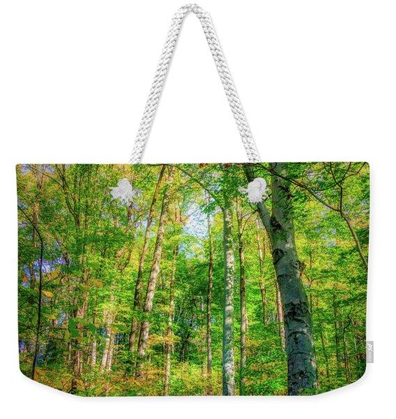 Happy Trails Weekender Tote Bag