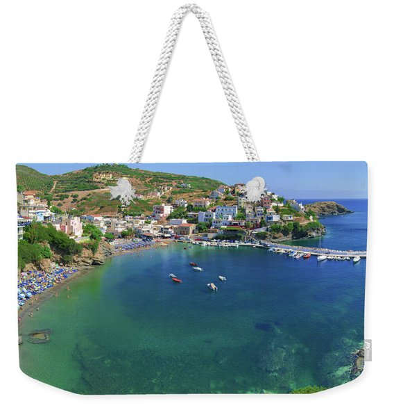 Harbor Of Bali Weekender Tote Bag