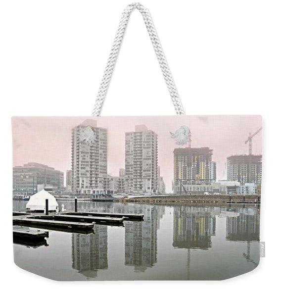 Harbor Point Towers Weekender Tote Bag