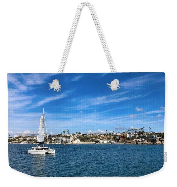 Harbor Sailing Weekender Tote Bag