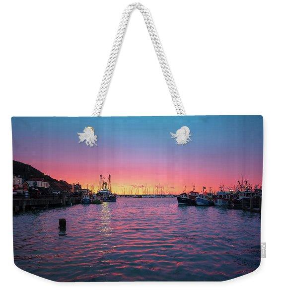 Harbour Lights Weekender Tote Bag