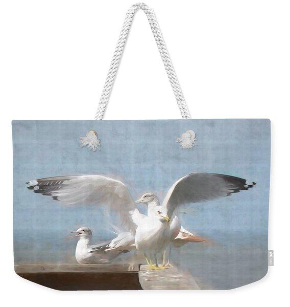 Harbour Watch Weekender Tote Bag