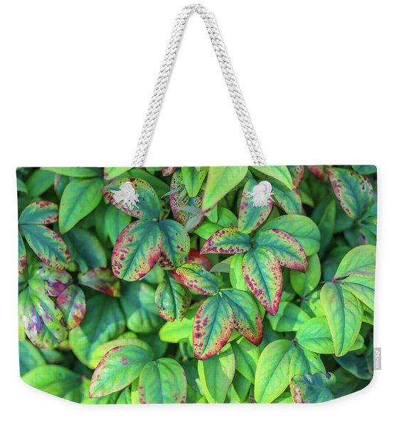 Harmony In The Garden Weekender Tote Bag