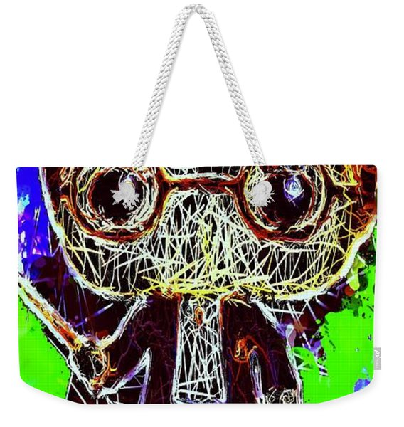 Weekender Tote Bag featuring the mixed media Harry Potter Pop by Al Matra