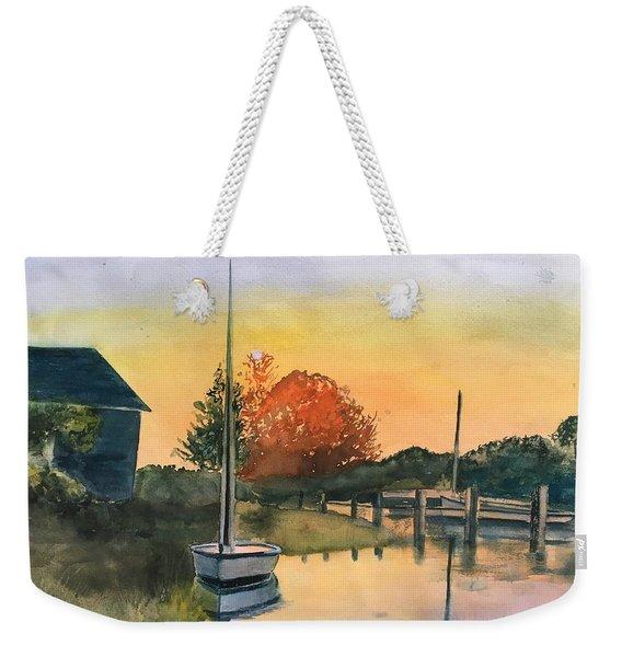 Harthaven Harbor, Mv Weekender Tote Bag