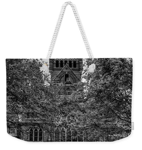 Harvard Memorial Hall Weekender Tote Bag