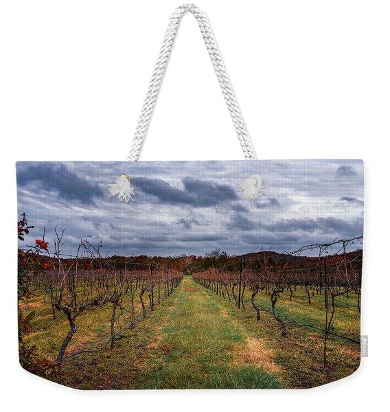 Harvested Grapevines Weekender Tote Bag