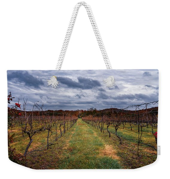 Harvested Grapevines Weekender Tote Bag