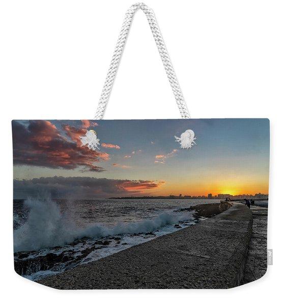 Havana Sunrise Weekender Tote Bag