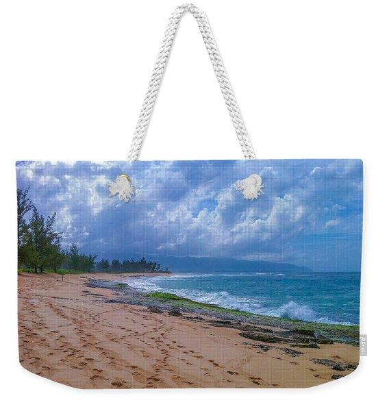 Hawaiian Clouds Weekender Tote Bag