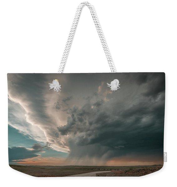 Hay Springs Ne Supercell Weekender Tote Bag