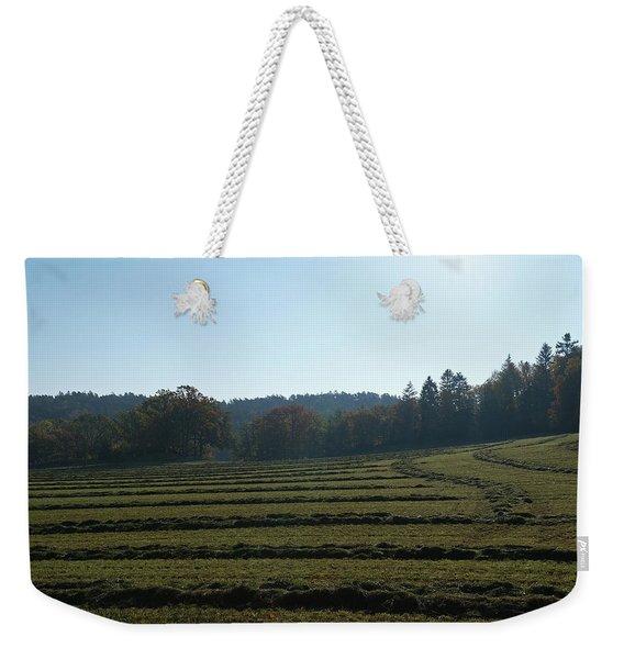 Haymaking Weekender Tote Bag
