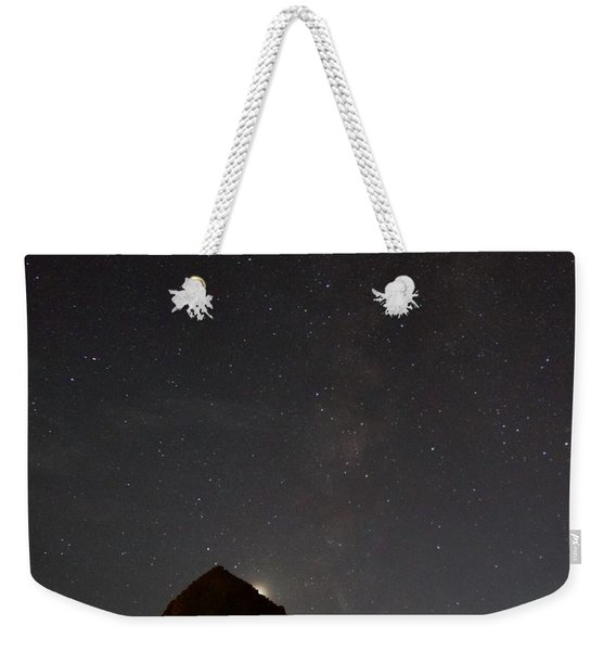 Haystack Night Under The Stars Weekender Tote Bag