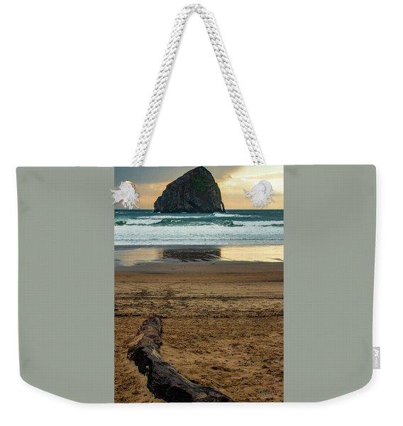 Haystack Reflection Weekender Tote Bag