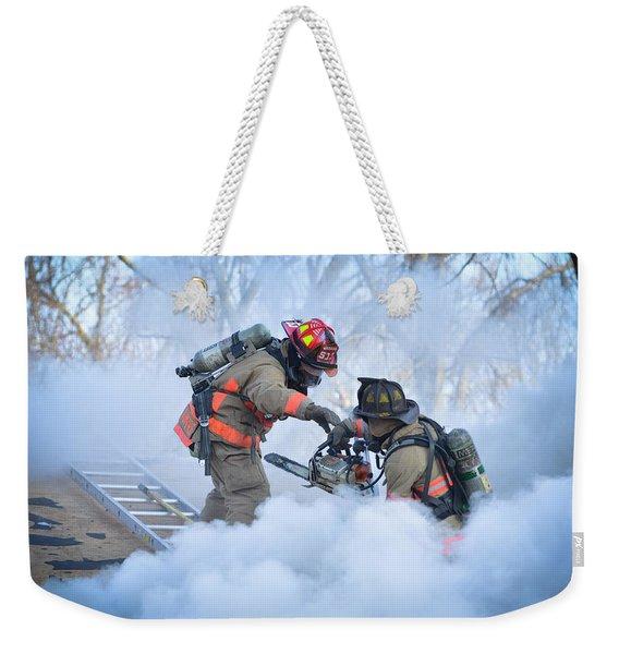 Hazardous Duty Weekender Tote Bag