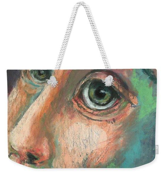 He Could See Weekender Tote Bag