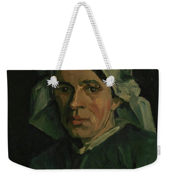 Head Of A Woman - 3 Weekender Tote Bag
