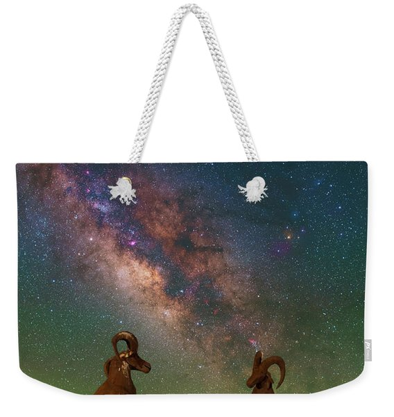 Head To Head With The Galaxy Weekender Tote Bag