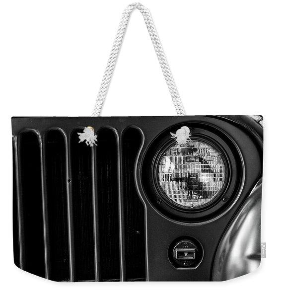Headlight, Jeep Weekender Tote Bag